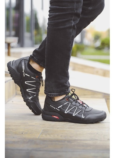 Oksit Filling 756 Erkek Sneaker Siyah